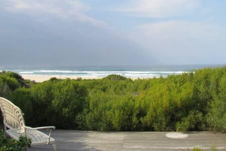 Seal Point, spacious beach villa on the beach
