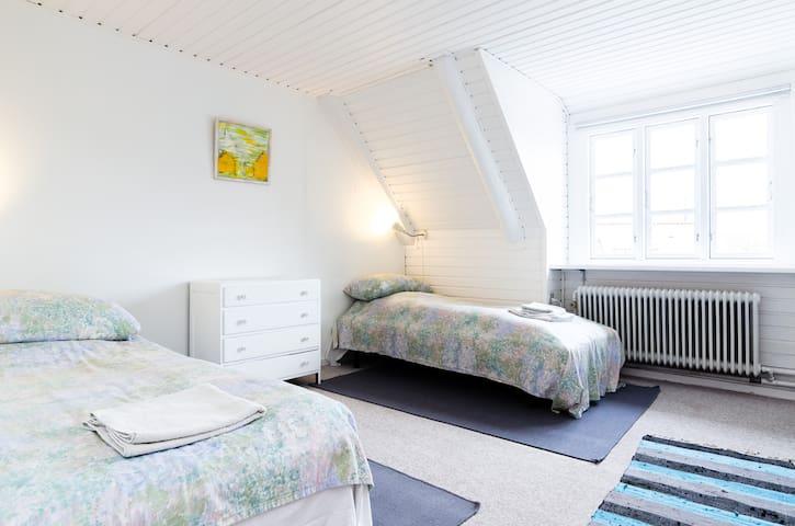 BNB#3 charming village by Roskilde  - Kirke Såby - Wikt i opierunek