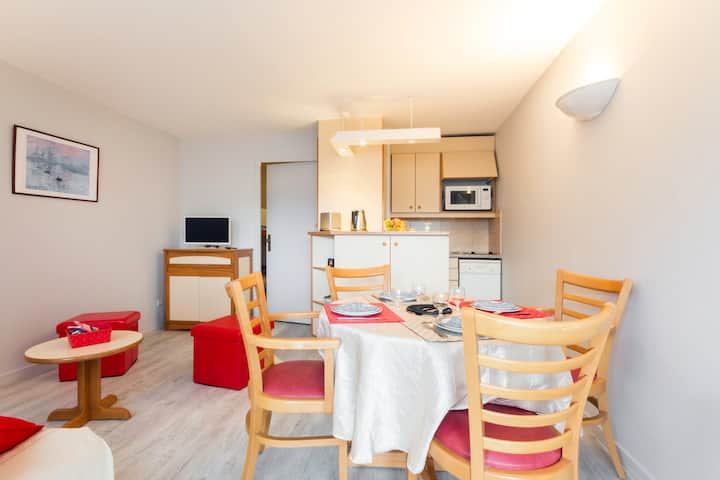 this cosy studio welcome you, 50 m from the beach