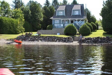Belle maison de campagne sur lac Aylmer - Stratford - Alpehytte