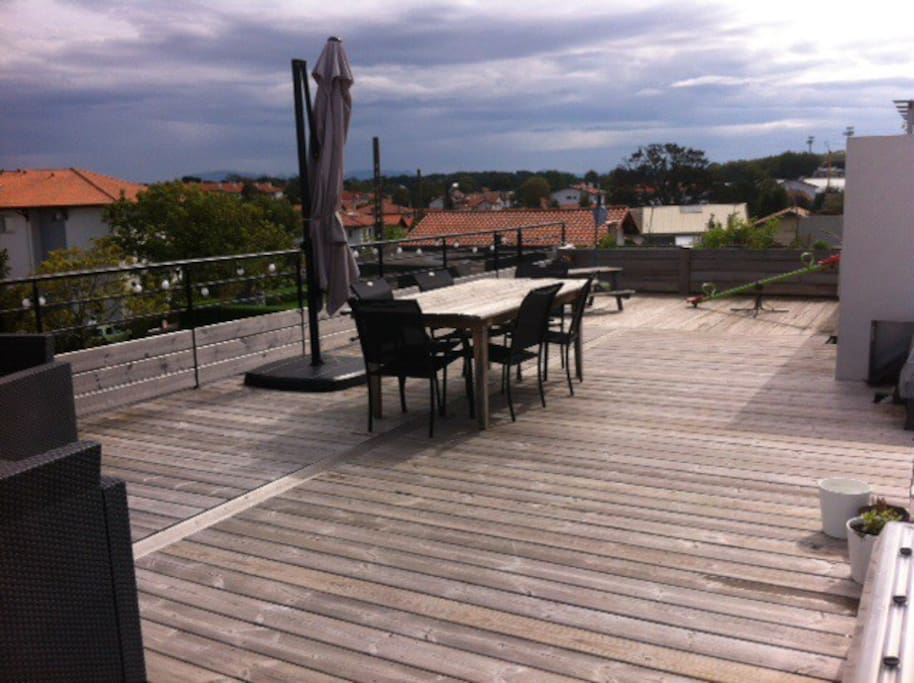 apt toit terrasse anglet biarritz appartamenti in affitto a anglet aquitania francia. Black Bedroom Furniture Sets. Home Design Ideas