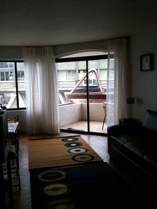 Living-comedor e incluye sofá cama