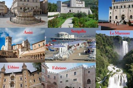 Nature art history in Umbria/Marche