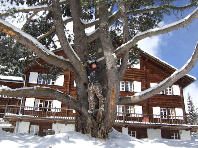 Luxury 190m2 ski apartment - Saas Fee - Apartament