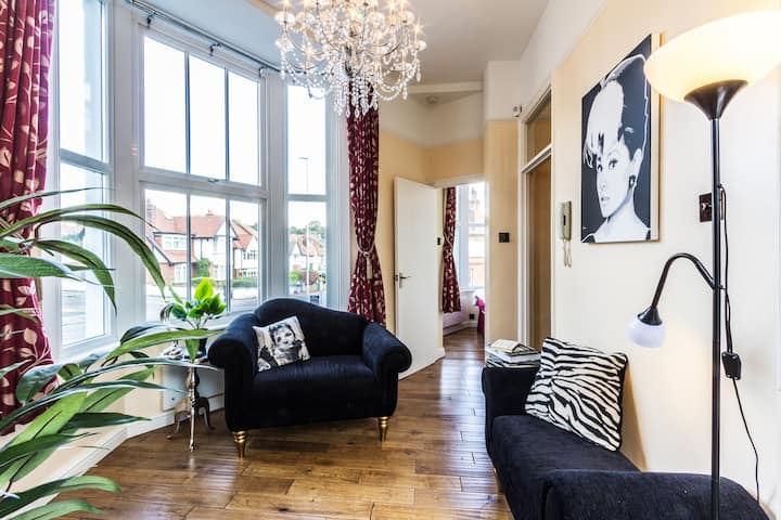 Pied-à-Terre Broadstairs-2 minutes from Viking Bay