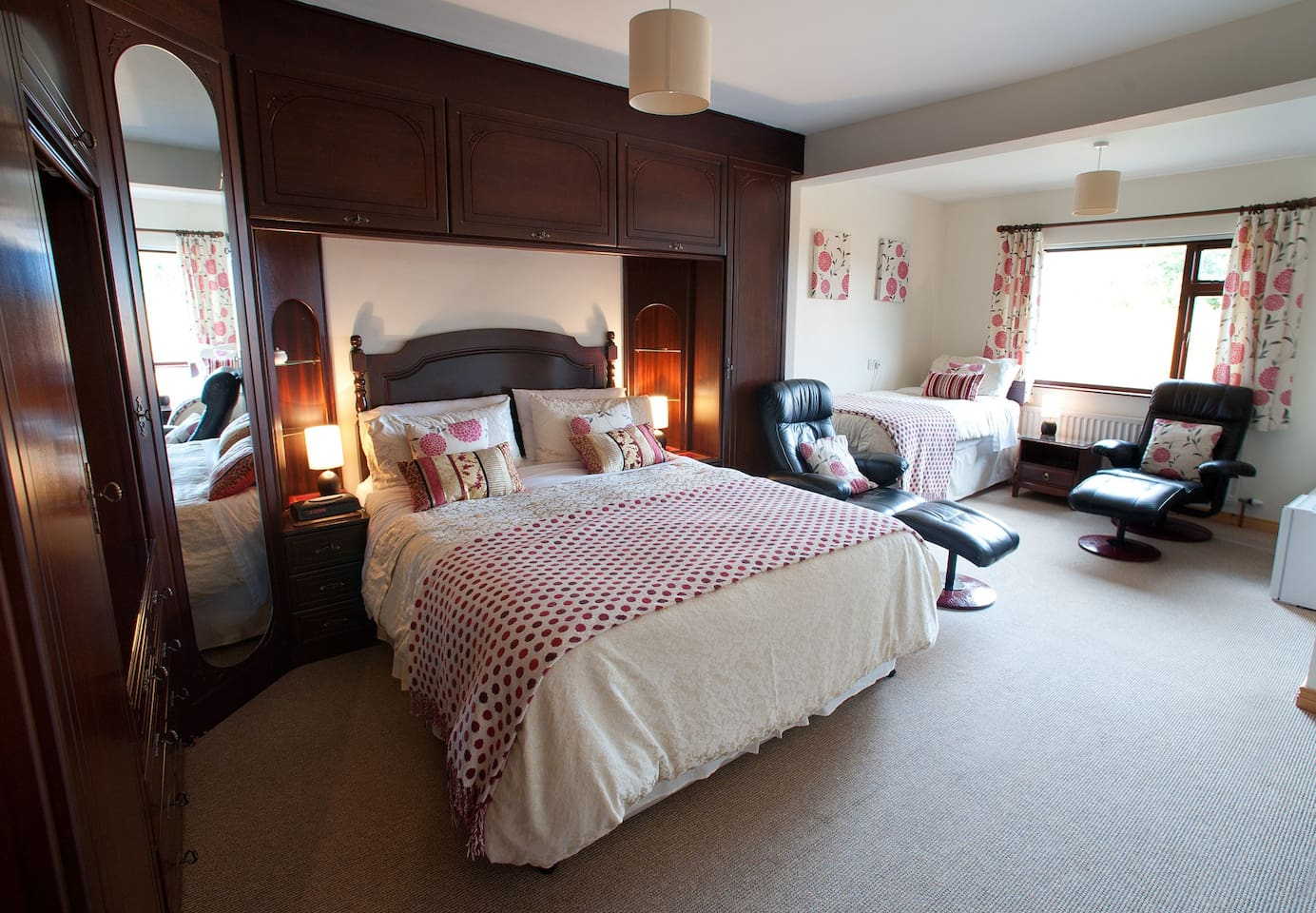 Large family bedroom