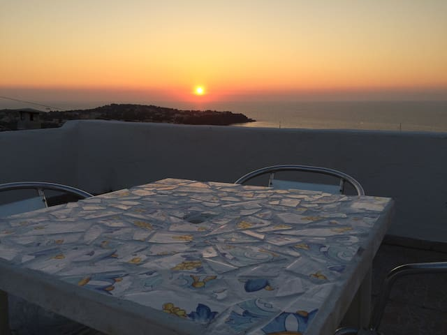 PANORAMIC HOUSE IN PROCIDA