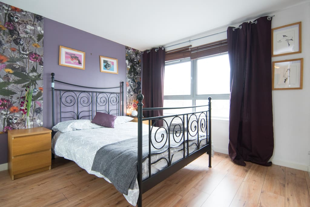 Master Bedroom has lovely river views and comes with en suite.