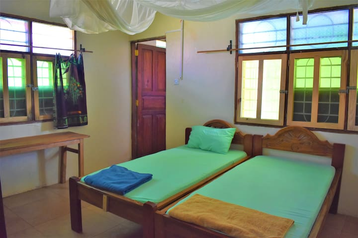 Secluded private bedroom in Makunduchi