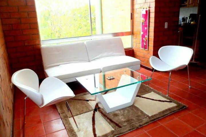 ヒオバナ と アレックス の家 (メデリン空港から15分) - Rionegro - Apartamento
