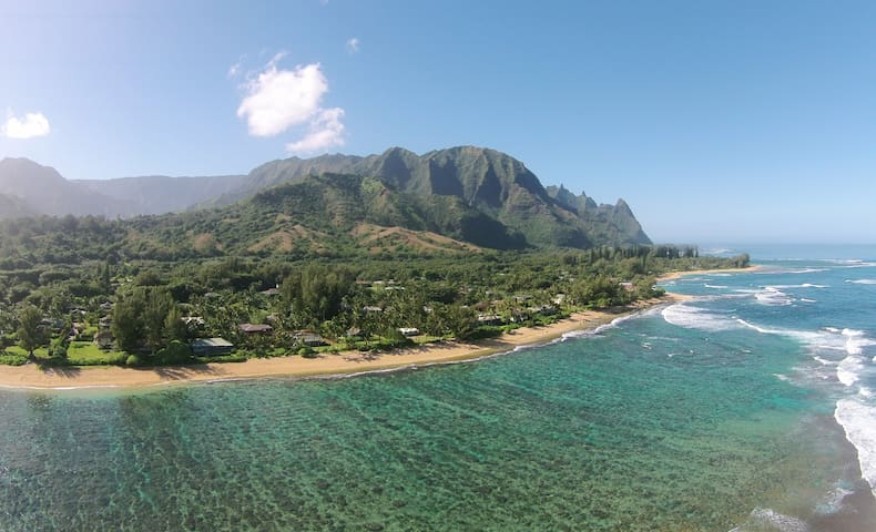 NEW! Ha'ena Haven - Steps to the Beach!! - Hanalei - House