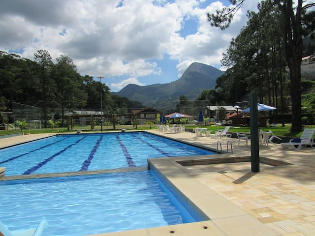 Sonho na Serra! (tipo resort) - Teresópolis - Flat