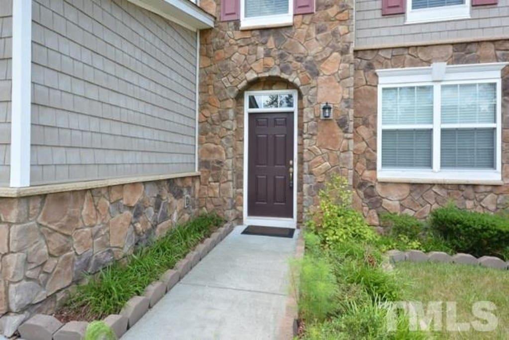 Front door walkway