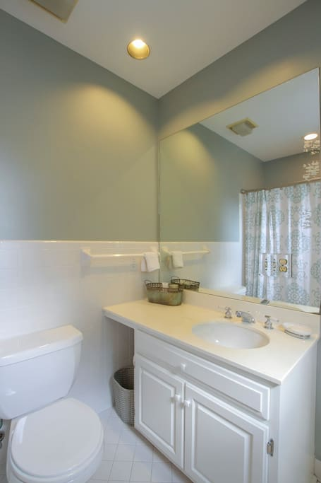 Private Bathroom off of bedroom