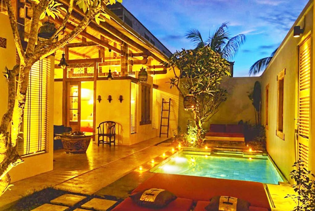 Bali Ginger Villa is a private luxury 2 bedroom villa with swimming pool.