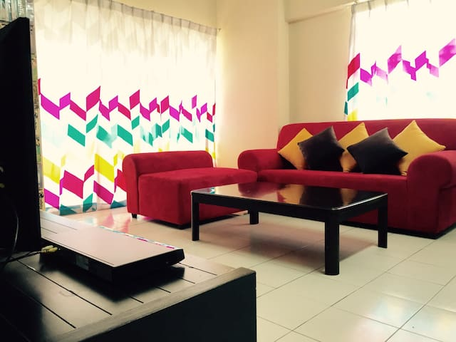 4rooms,10px@KL/3min-LRT,Near Sunway Velocity,IKEA - Kuala Lumpur - Lägenhet