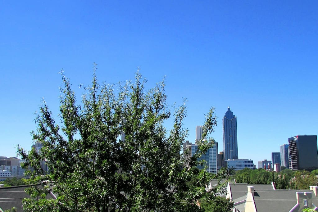 walking distance to downtown and to the beltline.