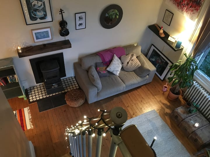 Beautiful flat in a quiet corner of the West End
