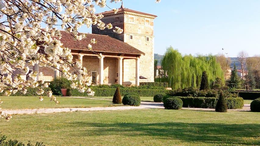 incantevole soggiorno in una residenza storica B&B - Meledo - Aamiaismajoitus