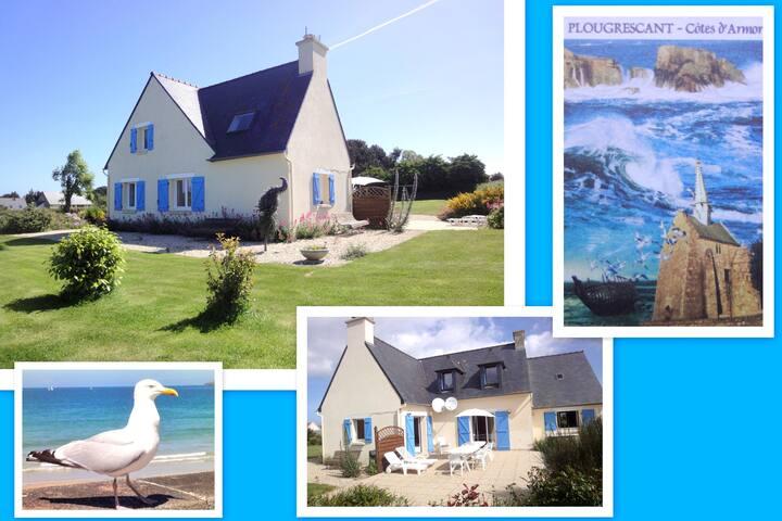Villa pour 12 près de la mer - Plougrescant - Villa