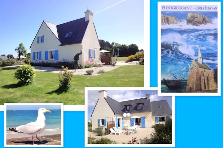 Villa pour 12 près de la mer