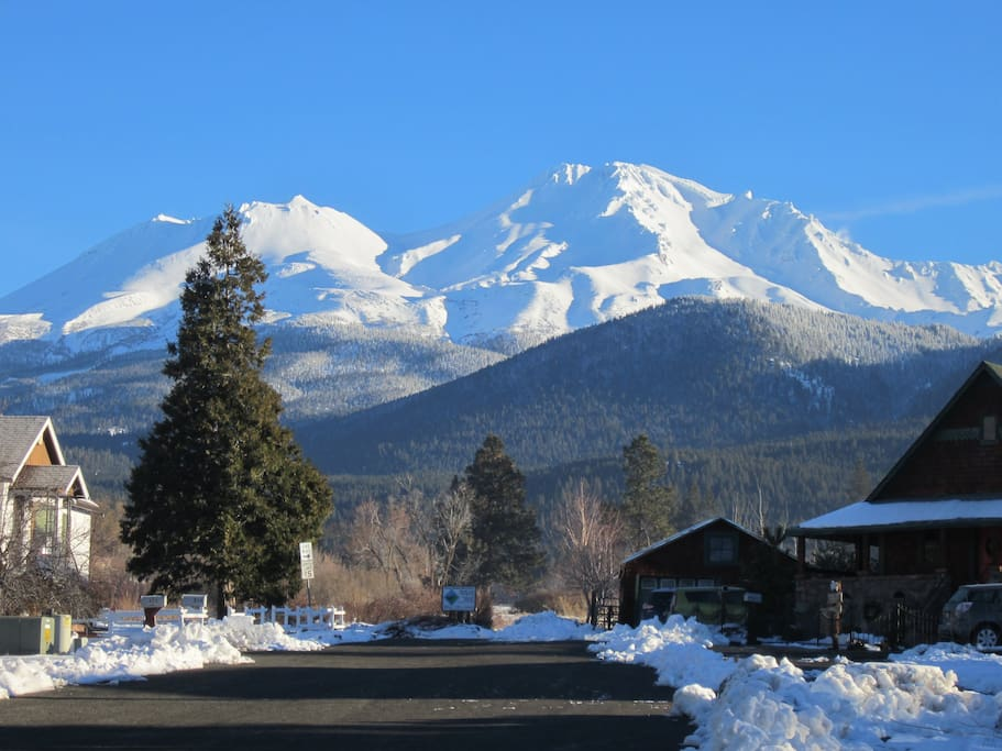 Mount Shasta from the corner