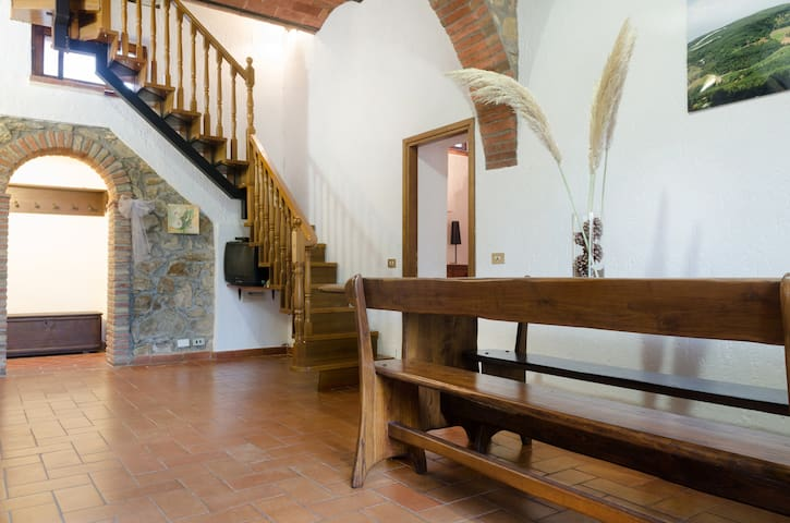 Accogliente casa in collina - Roccatederighi