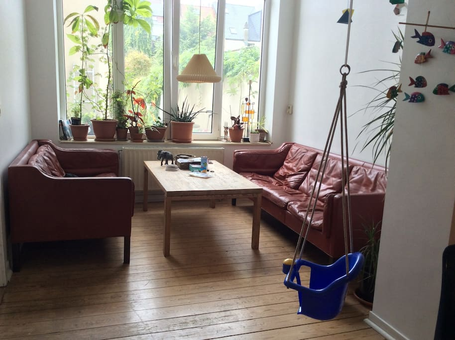 Livingroom (little swing can hold up to 20kg..)