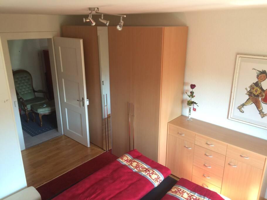 Bedroom 1 - on entrance level