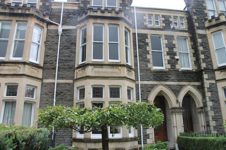 A luxury family Victorian townhosue - Cardiff - Rumah bandar