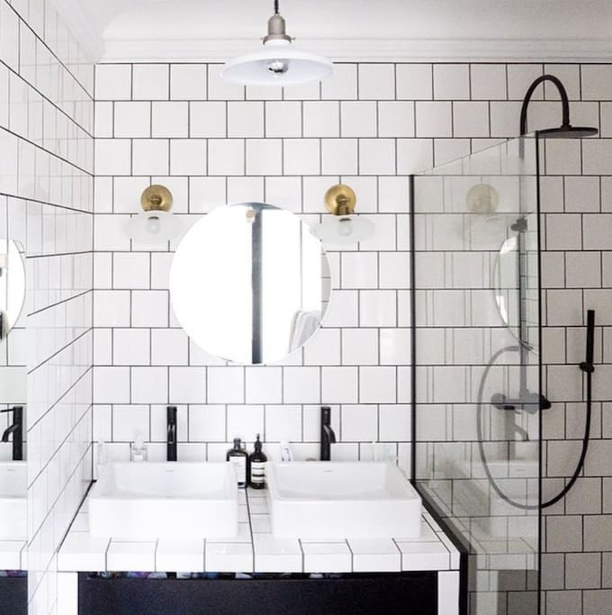 Bright, subway tile, and open bathroom will help you start your day fresh. We will also take care of the shampoo, body wash, etc - We can even lend a hair dryer most of the time!