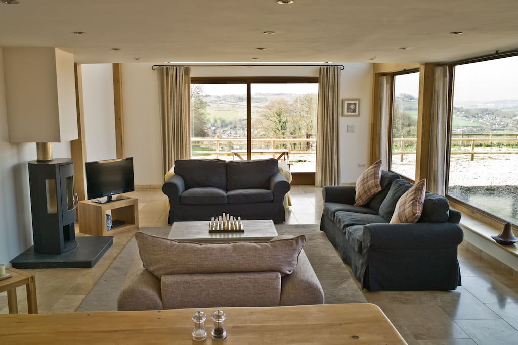 Log burner and heated floors throughout. Perfect for those cosy nights in.