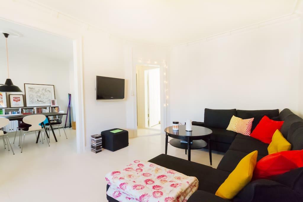 Trendy apartment in urban Cph area