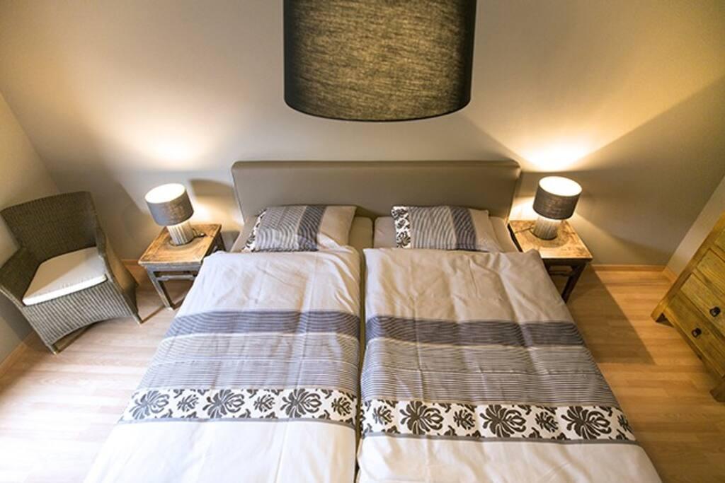 chambre double lit king size