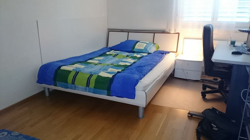 Quiet rooms at city central hub - Genève - Appartement