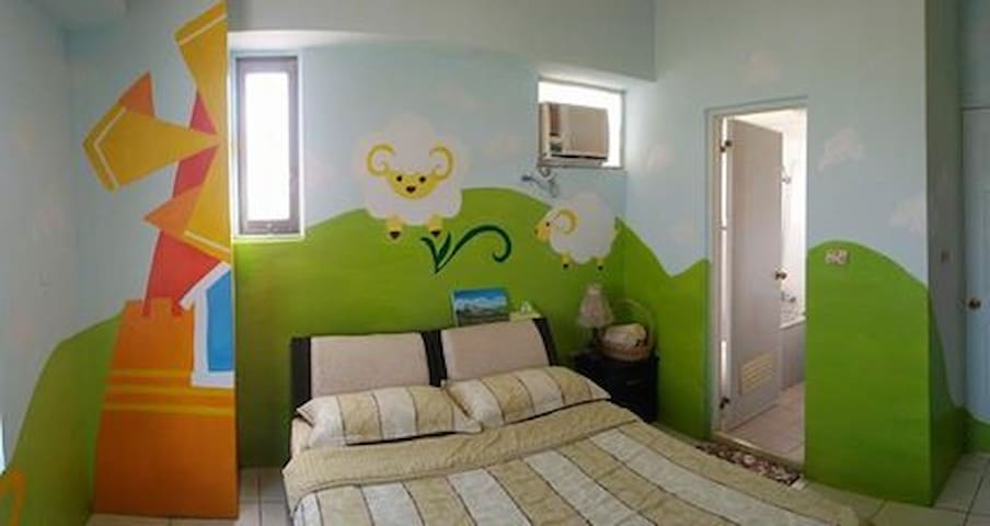 咩咩房(套房) - Puli Township - Appartement