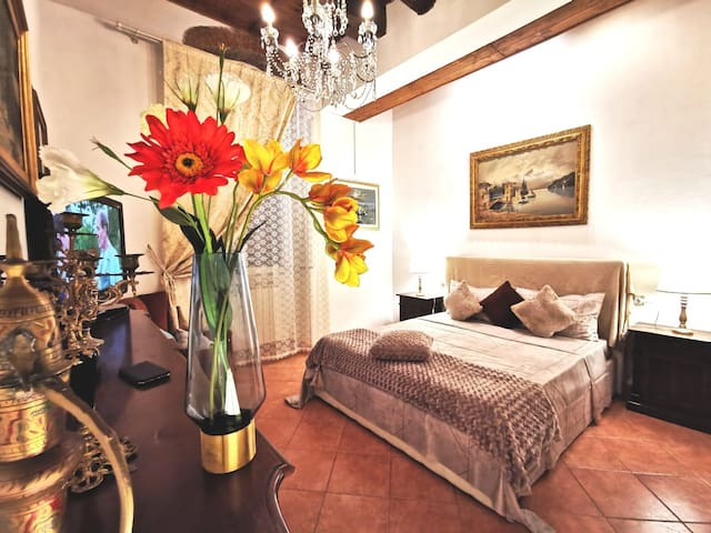 Central flat charming Florence style & terrace 欢迎
