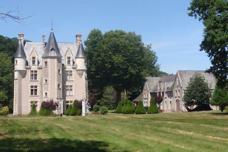 3 Private rooms in a Château - Sainte-Christine - Schloss