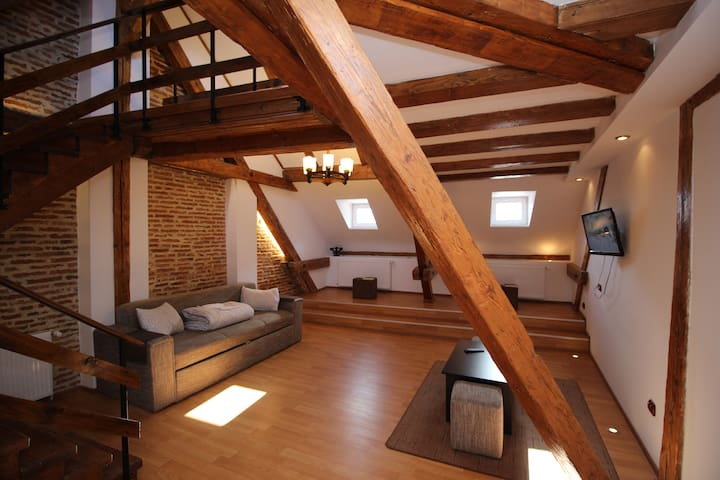 Superb Loft Studio in Main Square - Braşov - Pis