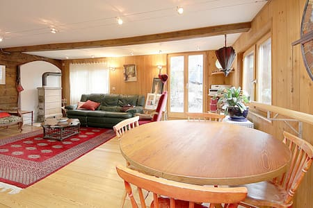 Wonderful Old Chalet redone prox al - Vernamiège - アパート