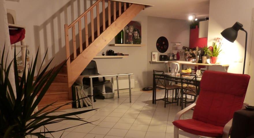 Appartement Duplex - Lyon - Apartamento