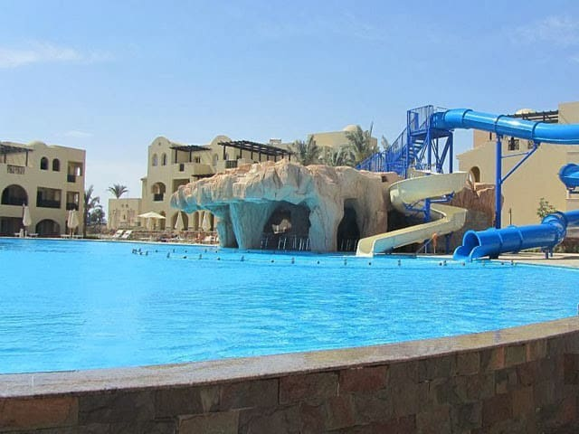 2 bedroom in hotel. Private beach - Hurghada - Apartment