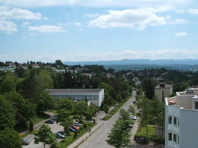 1 Zimmer Ferienwohnung mit Albblick - Tübingen - Apartament