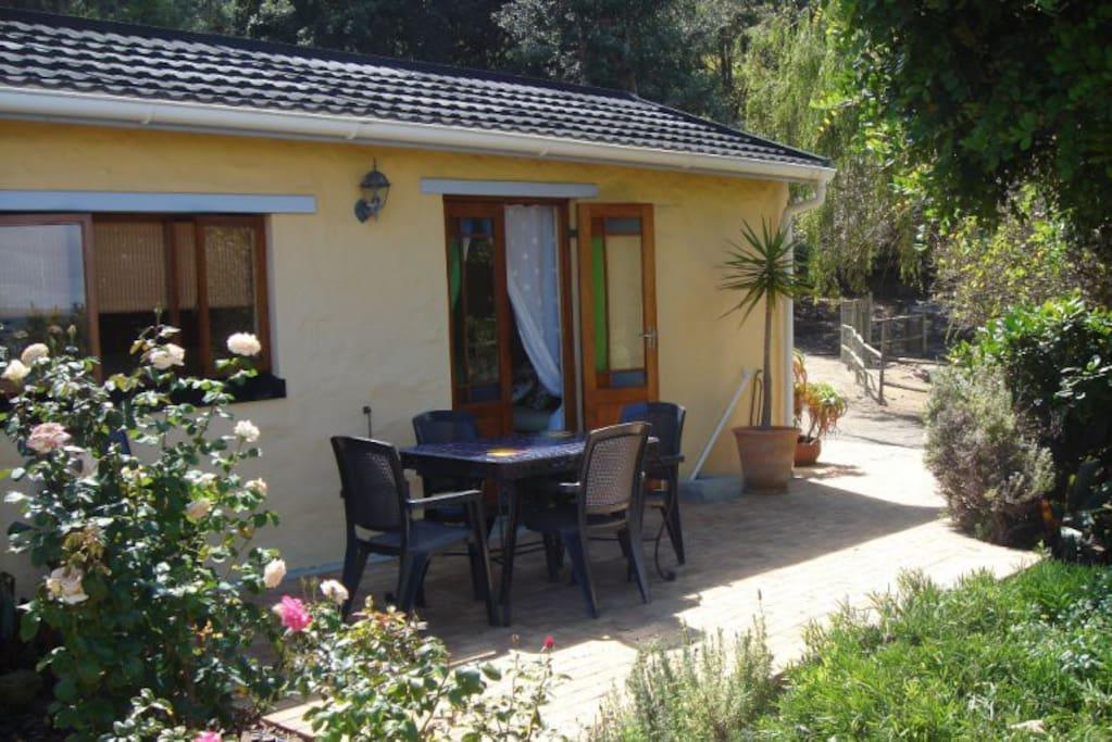 Quaint cottage feel