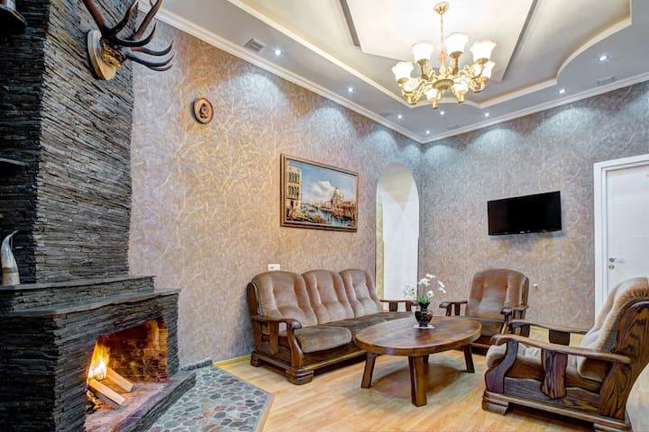 гостиница в абастумани Green hotel - Abastumani - Bed & Breakfast