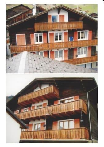 Appartement dans chalet familial - Levron