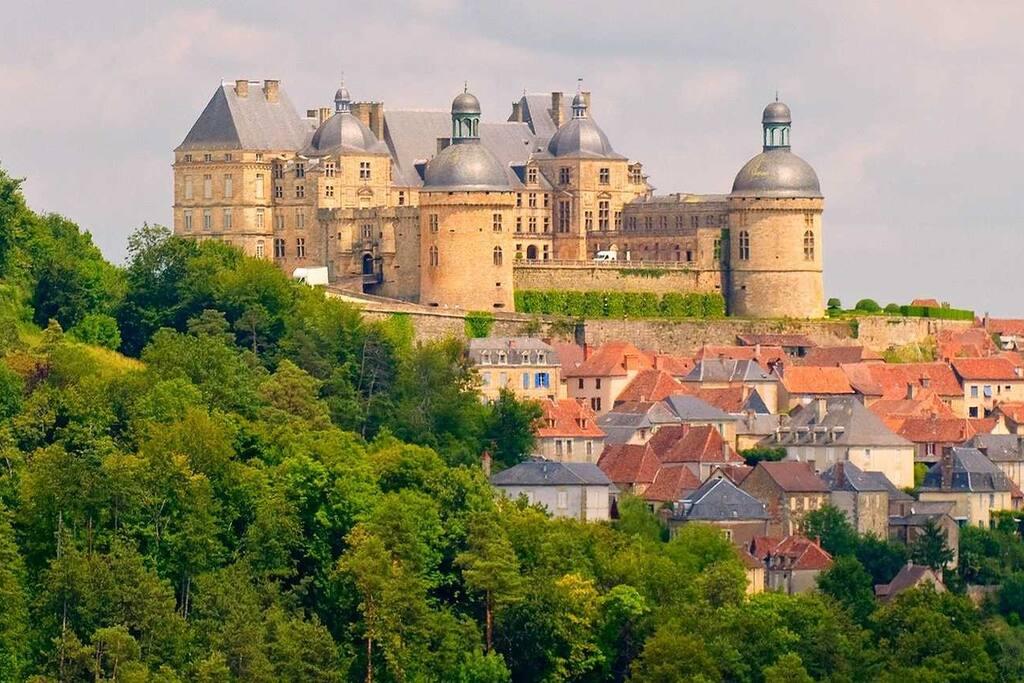 Chateau de Hautefort, our local castle is 2.5km