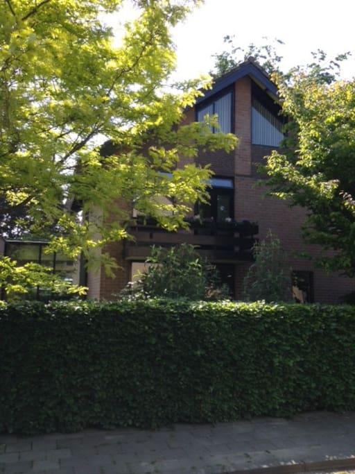 voorzijde huis