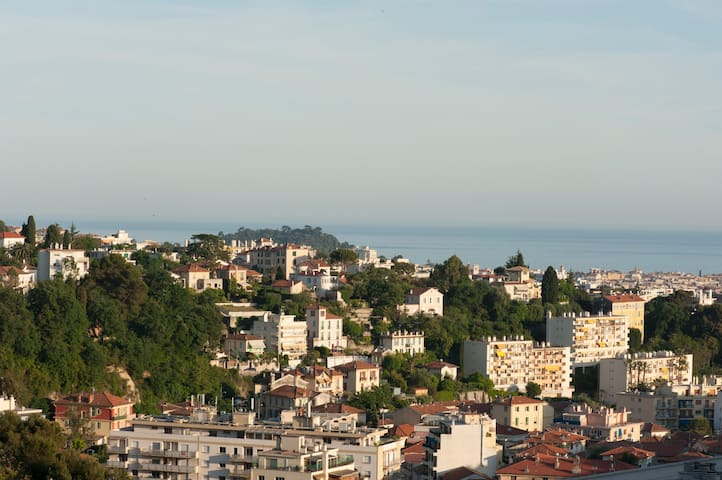 Vue du balcon / view from the balcony
