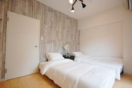 2BR Stylish  6 mins Shinjyuku   55 sqm   KE - Suginami-ku - Квартира